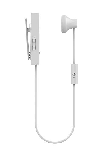 8ad0819b002 X Cell BT-118 Bluetooth Clip - On Headset, White: Amazon.ae