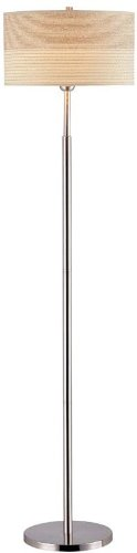 (Lite Source LSF-80751PS Relaxar Floor Lamp, 16.25