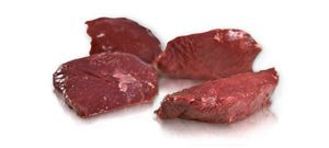Ostrich Medallion (Boneless) (Count 20 - 2 Oz.) (5 Bag of 4 / Total 2.5 (Game Steaks)