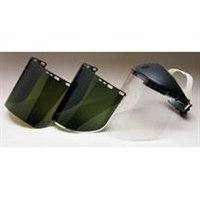 (Jackson 3002810 KC 29080 Polycarbonate Face Shield IR 5.0 Dark Green, 8