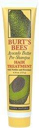 Avocado Butter Hair (Burt's Bees Hair Care Avocado Butter Hair Treatment 4 oz. tube (Pack of 5))