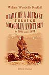 Diary of a Journey through Mongolia and Tibet in 1891 and 1892