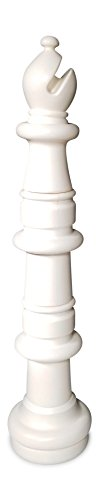 MegaChess Individual Chess Piece - Bishop - 45 inches Tall - White by MegaChess