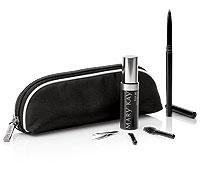 Mary Kay Brow Collection Bag with Brunette Brow Definer Pencil Brow Sculpting Tools & Brow Gel