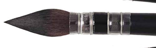 Raphael SoftAqua Synthetic, Watercolor Brush, Series 805, Quill, Size 0
