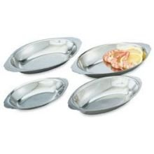 Vollrath Stainless Steel Oval Au Gratin Dish, 20 Ounce -- 12 per case. by Vollrath
