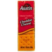 Amazon.com: Austin Cheese Crackers with Cheddar Cheese 10 ...  |Austin Cheddar Cheese