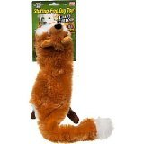 Crazy Critters Fox and Racoon Dog Squeak Pet Toys As Seen on TV, My Pet Supplies
