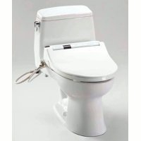 Toto MW854564SA-01 Ultramax Washlet S400 Pre-Installed