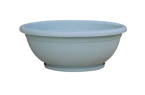 (TABOR TOOLS Plastic Planter Bowl, Garden Bowl for Indoor and Outdoor Use, Round. VEN305A. (12
