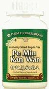 Pe Min Kan Wan taille économique, 500 ct, Fleur de Prunier