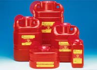 BD Sharps Collector Red X-Large 5 Gal Funnel