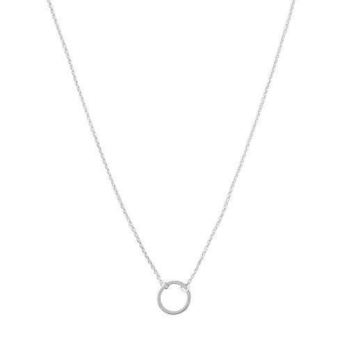HONEYCAT Mini Karma Open Circle Orbit Necklace