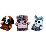 [Ty Peek A Boo Phone Holder Screen Cleaner (3) Scout Pups Scout Trixie] (Homemade Kids Penguin Costumes)