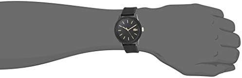 Lacoste Men's TR90 Japanese Quartz Watch with Rubber Strap, Black, 19.5 (Model: 2011010) 6