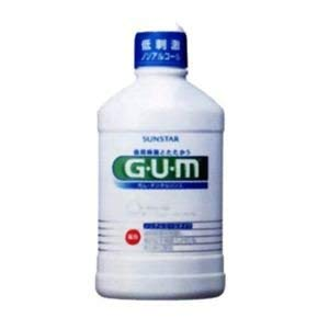 GUM medicated dental rinse non-alcoholic type 500ml 7 sets