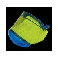 (National Safety Apparel® Arc 10 Green Propionate Faceshield With Anti-Fog Coating, Slotted Hardhat Adapter And Chin Guard)