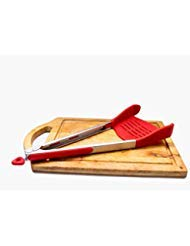 Kitchen tongs with silicone tips Smart tongs kitchen spatula tongs Silicone Spatula Tongs Kitchen Tools Stainless Steel Frame Dishwasher Safe tong spatula kitchen tongs red kitchen tools