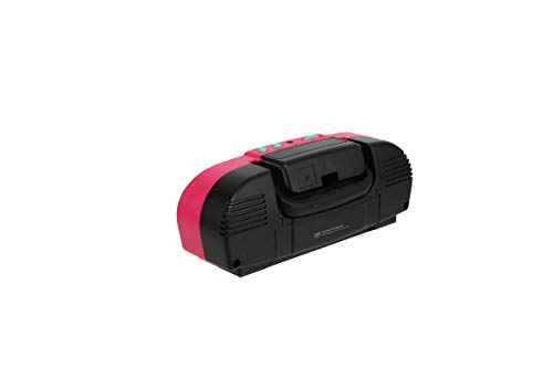 Sakar L.O.L. Surprise KO1-03136 Kids Karaoke Machine with Radio, Portable Fm/Am Radio, Corded Microphone, Durable Handle Allows for Easy Transport, Surprise Stickers, Pink by Sakar (Image #3)