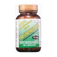 Seulement prégnénolone naturel 25mg Capsules - 50 Ea, Pack 4