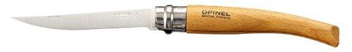 Opinel Slim Knife No10 Beech Wood Handle, Outdoor Stuffs