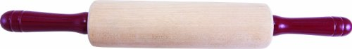 Fletchers' Mill Children's Rolling Pin - 7 inch, Dough Roller, Perfect Small Size for Skilled Bakers & Kids, Great for Bread, Pastry, Cookies, Pie, MADE IN -