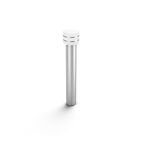 Philips Hue Tuar Poste o Columna Inteligente Exterior LED (IP44), Luz Blanca Cálida, Compatible con Alexa y Google Home