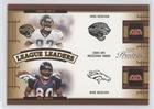 Jimmy Smith; Isaac Bruce; Donald Driver; Rod Smith (Football Card) 2005 Playoff Prestige - League Leaders #LL-29