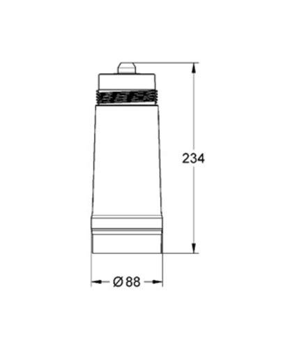 GROHE 40547001, 792.5 gallons (3000 liters) by GROHE (Image #1)