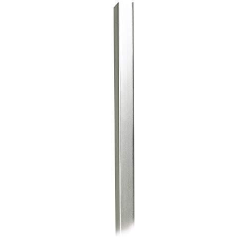 30 Long Brushed Nickel Metal Cord Cover - 360 Lighting