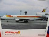 Dc 10 Airplane (Daron Herpa Iberia DC-10-30 Model Kit (1/200)