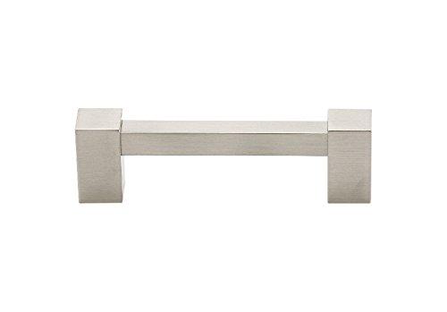 (Alno A718-4-SN Contemporary II Modern Pulls, Satin Nickel)