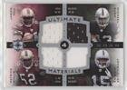 Jason Hill  Patrick Willis  Michael Bush  Johnnie Lee Higgins  19 25  Football Card  2007 Ultimate Collection   Ultimate Quad Materials  Uqm 16
