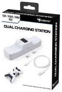 - Subsonic - Estación de carga blanca para 2 controladores Dual Sense PS5 - Estación de carga doble Playstation 5 (PlayStation 5)