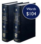 Compact Thesaurus - Compact Oxford English Dictionary and Thesaurus (Leather Bound) (2 Vol. Set)