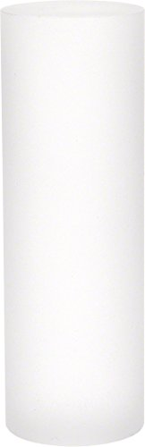 - Plymor Brand Clear Frosted Solid Acrylic Round Display Column - 4.5