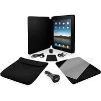 Ematic 9-in-1 EP101 iPad Accessory Kit Including Charger, Le
