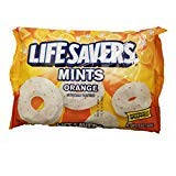 Life Savers Orange Mints 13-Ounce bags - PACK OF 6 by Lifesaver