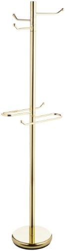 Brass Valet - Taymor Polished Brass Robe & Towel Valet