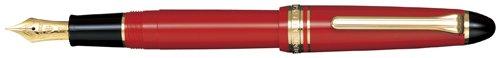 Sailor 1911 Standard Red GT 14K Gold Medium Point Fountain Pen - 11-1201-430 by Sailor