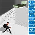 Solar Powered Motion Sensor 16-LED Light Security Motion Activated Solar Wall Light Garden Lamp