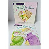 img - for 2 Paperback Story Books with 2 Lullaby Music CD's book / textbook / text book