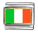 Italy Flag Italian Charm Bracelet Link