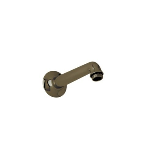 Rohl C5056.2TCB 7-1/8-Inch Reach Country Bath Shower Arm Only, for the C5504 Single Function Showerhead Set , Tuscan Brass