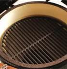 Big Green Egg Cast Iron Dual Side Grid for Large EGG 18'' by Hardware Supply Mall