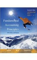 Fundamental Accounting Principles (17th edition), Volume 1 (Chapters 1-12) with Working Papers, w/2003 Krispy Kreme AR, TTCd, NetTutor, OLC w/PW