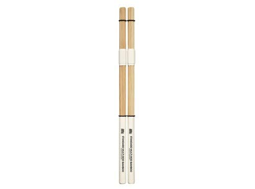Meinl Stick & Brush Multi-Rod Bundle Sticks with Solid Bamboo Dowels and Adjustable Rings, Standard Size - MADE IN GERMANY, New Version) (SB201)