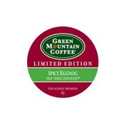 [Green Mountain Coffee Spicy Eggnog K-Cups 24ct Seasonal - Limited Time Only] (Eggnog Cups)