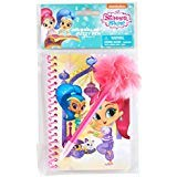 Tri-Coastal Spiral Notebook Journal & Fuzzy Pen Set (Shimmer & Shine)