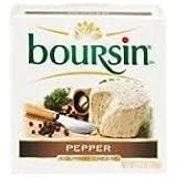 BOURSIN Pepper, 5.2 Ounce (Pack of 6)